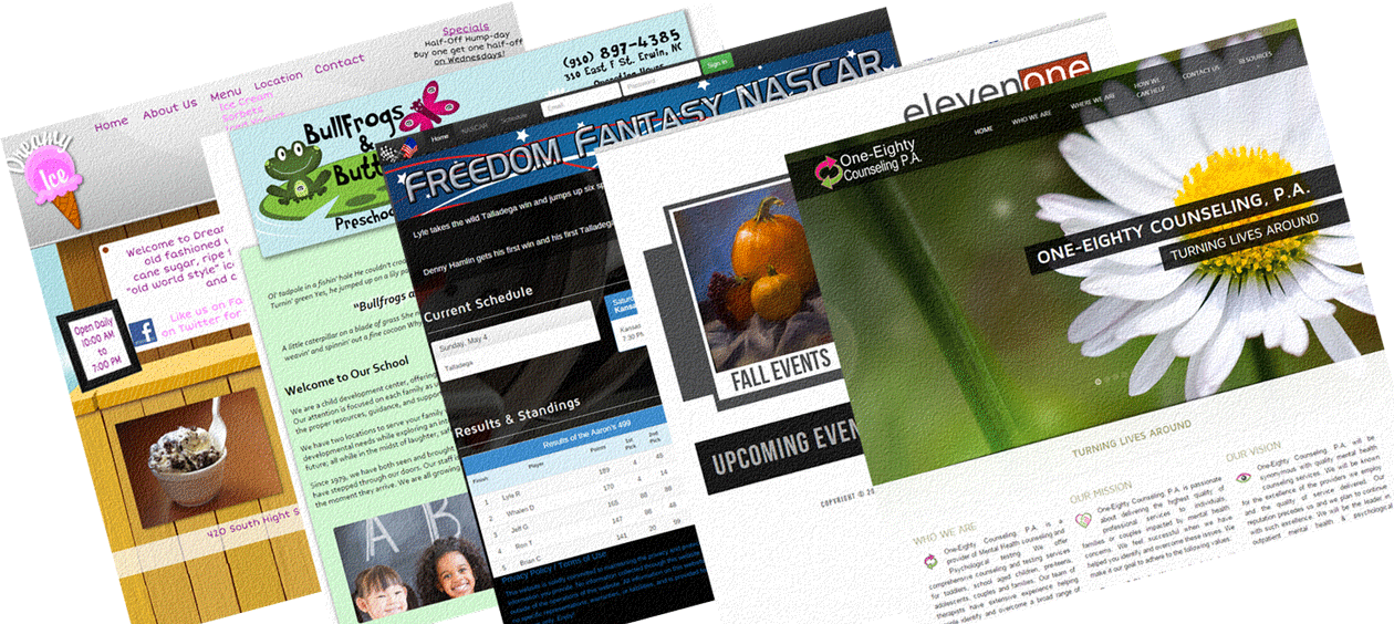 About My Sites