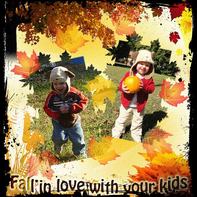 Fall in Love with Your Kids