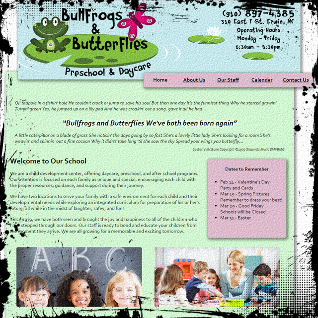 Bullfrogs & Butterflies